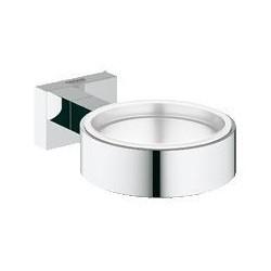 Grohe Essentials Cube, wandhouder, chroom