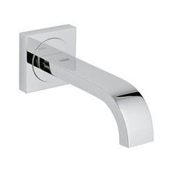 Grohe Allure baduitloop, wandmontage, chroom