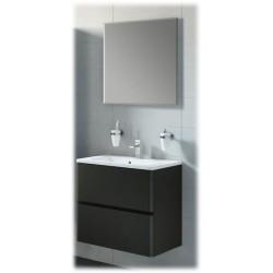 Badkamers AIDA  Zwart gelakt
