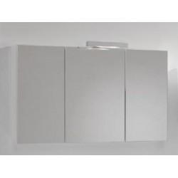 Spiegelkast 100x60 cm wit