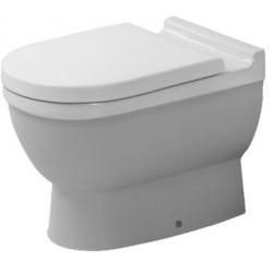 DURAVIT Starck 3 Staande-WC Starck 3 wit afvoer hori., Diepspoel, gesloten