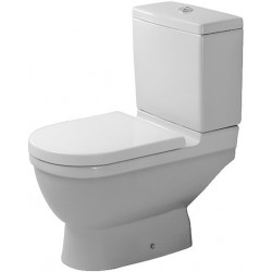 DURAVIT Starck 3 Staande-WC Starck 3 wit afvoer vert., Diepspoel, voor reser