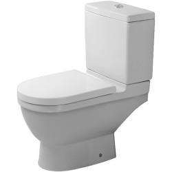 DURAVIT Starck 3 Staande-WC Starck 3 wit, afv.horiz. Diepspoel, voor Reservoir