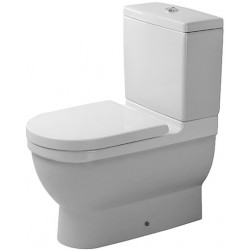 DURAVIT Starck 3 Staande-WC Starck 3 wit, Vario afv. diepsp.,v.Reservoir, geslepen