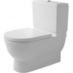 DURAVIT Starck 3 Binnenw. toilet 74 cm Starck 3 wit afvoer Vario, diepsp., gesloten WGL