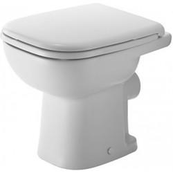 DURAVIT D-Code Staande-WC 48 cm D-Code, afvoer hor Diepspoel, wit