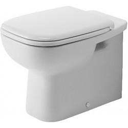 DURAVIT D-Code Staande-WC 56 cm D-Code wit Diepspoel,afvoer horizontaal,gesl.
