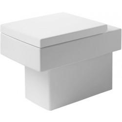 DURAVIT Vero Staande-WC 57 cm Vero wit afvoer horizontaal, Diepspoel, gesl. WGL