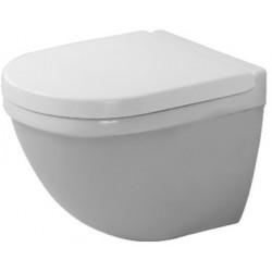 DURAVIT Starck 3 Hang-WC Compact met diepspoel en Durafix - Wit
