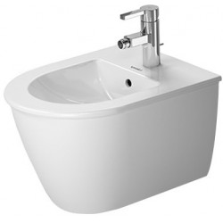 DURAVIT Darling New Wandbidet Darling New Compact wit, m.overl.,m.kr.bank, 1krgt WG