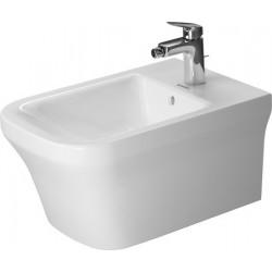 DURAVIT P3 Comforts Wandbidet 570mm P3 Comforts Wit met overl. , met krgt bank, 1 krgt
