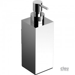 clou Quadria zeepdispenser, wandmodel, chroom