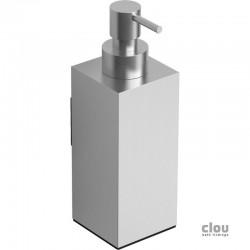 clou Quadria zeepdispenser, wandmodel, rvs geborsteld