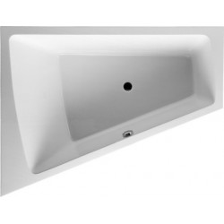 DURAVIT Bad Paiova 1800x1400mm Wit Hoek links, Inbouwversie