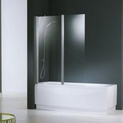 Novellini  aurora 2 2-delig spatsch.120x150 cm satin glas chroom