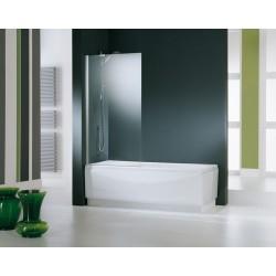Novellini  aurora 5 spatscherm 85x150 cm helder glas wit