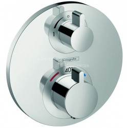 Hansgrohe Ecostat S inb. therm met stop/omstel