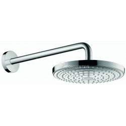 Hansgrohe RD Select S 240 2jet HD Wand+arm chr