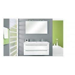 badkamermeubel  Pelipal Cubic van 120 cm wit hoogglans