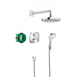 HANSGROHE Croma Select E / Ecostat E ShowerSet