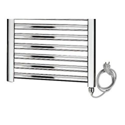 Thermostatische handdoekdroger 600x800 Banio serie mon