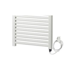 Elektrische handdoekdroger 60x120 cm Banio Tek - Wit