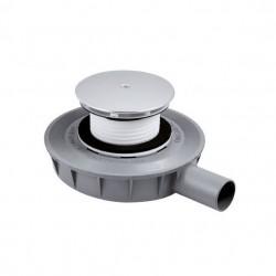 PONSI Siphon de 90 mm 45 mm de hauteur pour receveur de douche