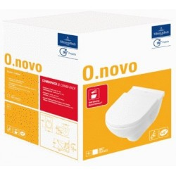 Villeroy & Boch O.novo Combipack Blanc CeramicPlus