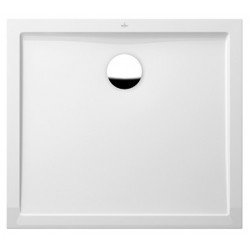 villeroy & boch Quaryl Douchebak in Quaryl  Quaryl Futurion Flat 90 x 80 x 2,5  cm