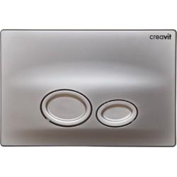 Creavit Drop mat-chroom bedieningspaneel