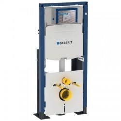 Geberit Duofix-element voor hang-wc, 112 cm, met Sigma inbouwspoelreservoir 12 cm, vrijstaand, verstevigd