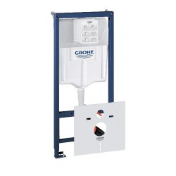 Grohe Rapid SL installatiesysteem voor hang-wc met GD2 spoelreservoir met geluidsisolatieset