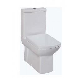 Banio Lara wit staande wc kompleet,   muur/onder-uitgang