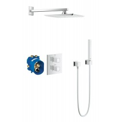 Grohe Grohtherm Cube Thermostat set inb. douche +doucheg.