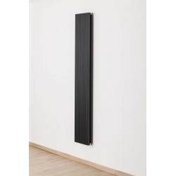 Radiator Banio-Robyn zwart Hoogte 180 cm Breedte 28 cm