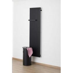 Radiator Banio-Roan zwart Hoogte 180 cm Breedte 50 cm