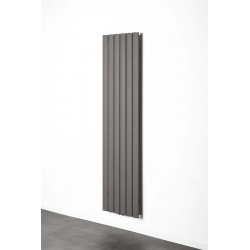 Radiator Banio-Romy Couleur Gris Hoogte 180 cm Breedte 47,5 cm