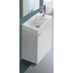 Banio Design-Agento Set wastafelmeubel voor wc Wit