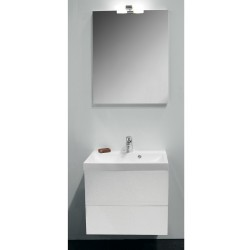 Banio Design-Roxanna badkamermeubel set 60cm compleet Wit
