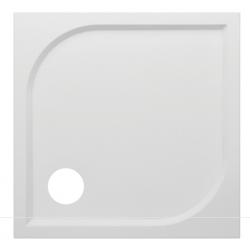 Banio Design Argos Douchebak in wit polybeton gelcoat - 80x80x3cm