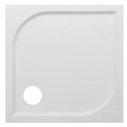 Banio Design Argos Douchebak in polybeton gelcoat wit - 90x90x3cm