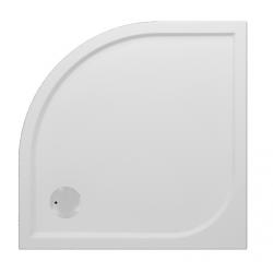 Banio Design Argot Douchebak kwartrond in polybeton gelcoat Wit - 90x90x3cm