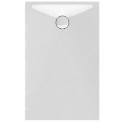 Banio Design Protos Douchebak in solid surface Wit - 120X80x3,5cm