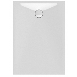 Banio Design Protos Douchebak in solid surface Wit - 120x90x3,5cm