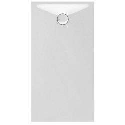 Banio Design Protos Douchebak in solid surface Wit - 140x80x3,5cm