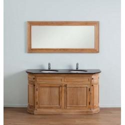 Banio-Flamant Badkamermeubel met spiegel - 160x55x86cm