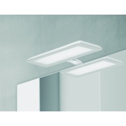 Verlichting LED Banio-Nikita voor Kast/Spiegel Wit/Staal - 10W, 1800Lm