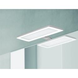 Badkamerverlichting LED Banio-Nikita voor Kast/Spiegel Grijs/Wit - 30cm 10W, 1870Lm