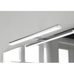 Badkamerverlichting LED Banio-Pandora voor kast/spiegel Chroom - Breedte 60,8 cm, 12W, 1300Lm