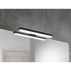 Badkamerverlichting LED Banio-Veronica voor kast/spiegel Zwart - Breedte 28,4 cm, 8W, 550Lm